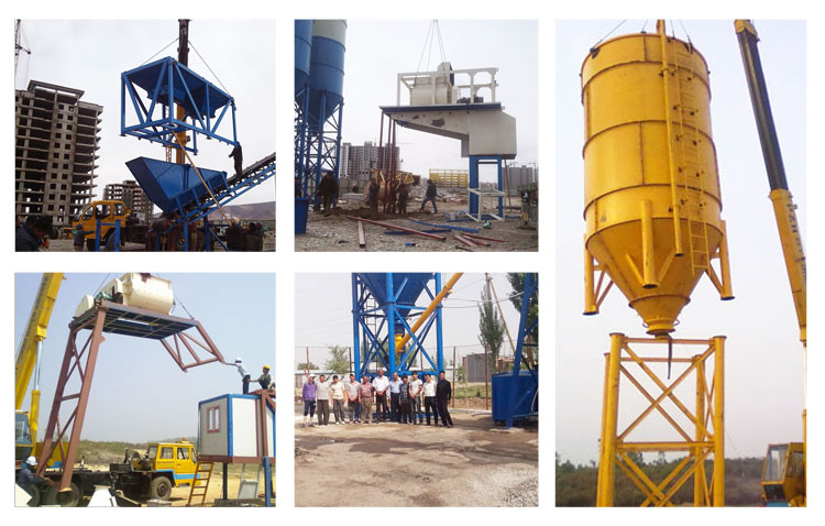 Fly Ash Concrete >> Installation and Test Running Tips of Batching Plant - Controlmakers