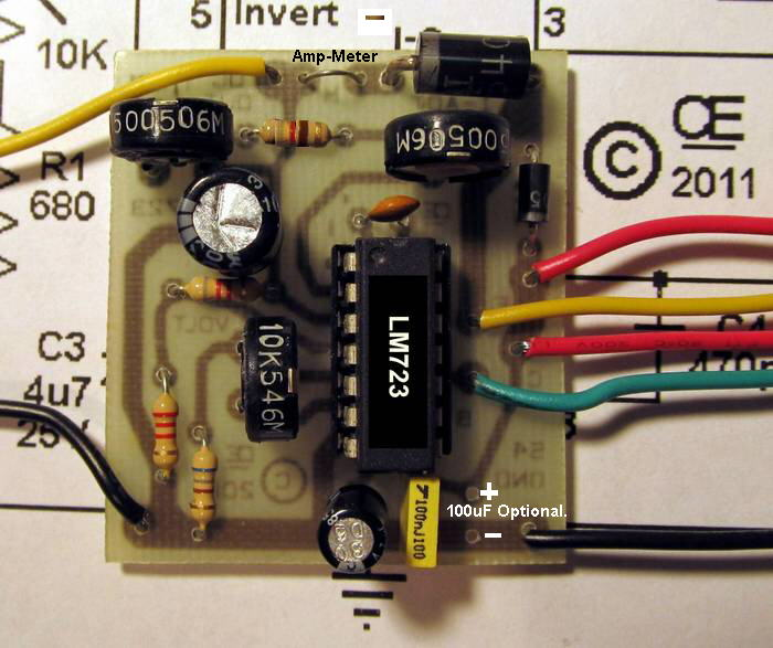 Power supply-LM723 ControlMakers
