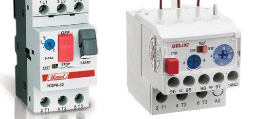 سمت راست بیمتال - سمت چپ کلید حرارتی
