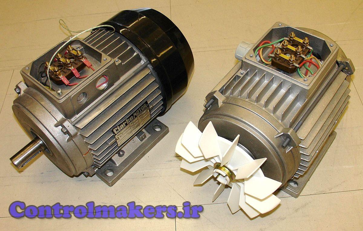 الکتروموتور القایی سه فاز