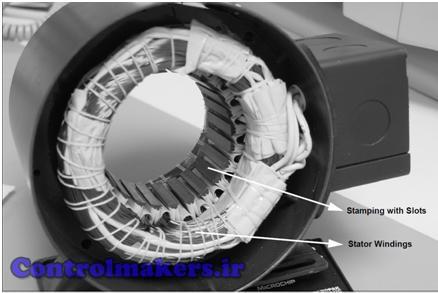 استاتور موتور DC بدون جاروبک