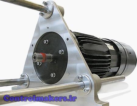 نمای جلویی موتور رلوکتانسی سوئیچ شونده