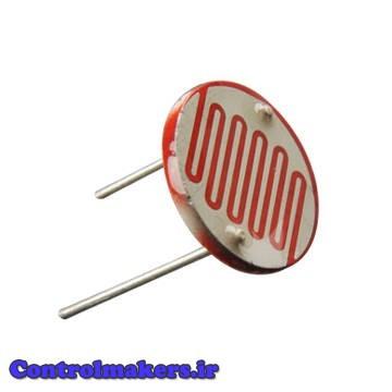 مقاومت تابع نورLDR - Light Dependent Resistor